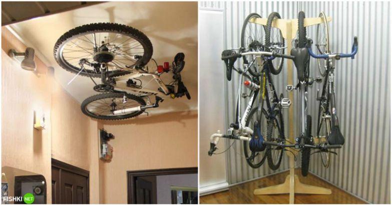 А вот если колеса потолще и руль побольше - можно соорудить нечто подобное! вещи, идеи, квартира, маскировка, полезное, решение