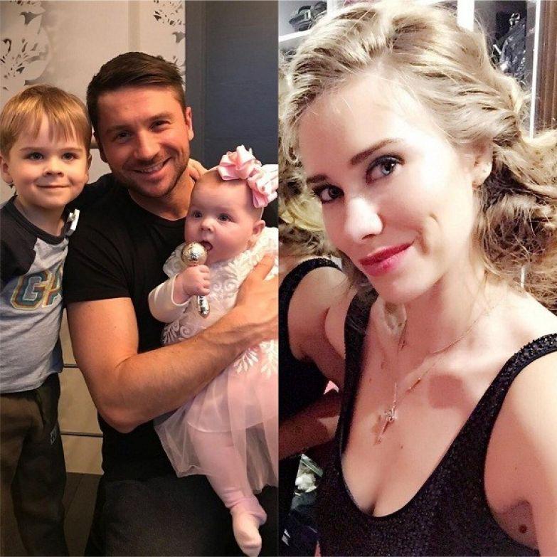 Многие считают, что дети Сергея очень похожи на Анну