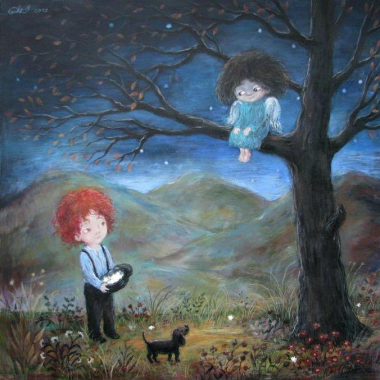 Картины с душой... Автор работ: Нино Чакветадзе (Nino Chakvetadze).