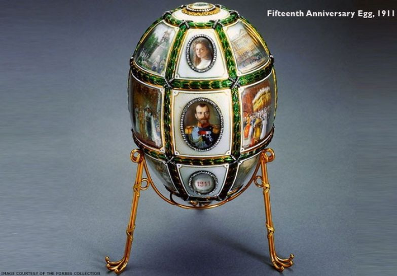 Пятнадцатая годовщина царствования, яйцо Фаберже, 1911