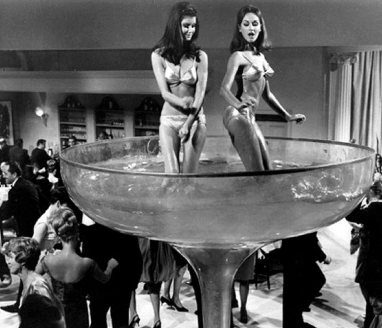 9. Новогодняя вечеринка, 1960-х. интересное, исторические фото, история, фото