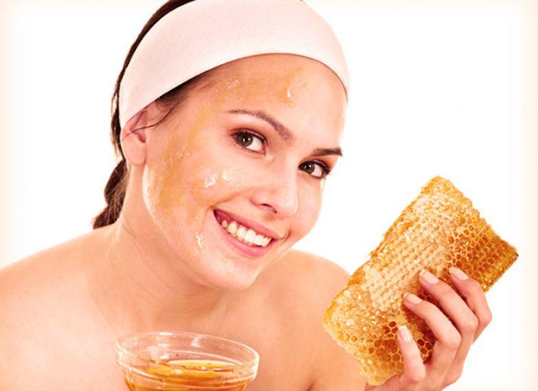 маска для лица с мёдом