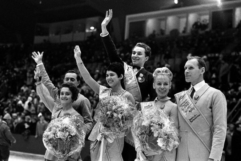 В 1969-м фигуристы обошли сильнейших соперников — Людмилу Белоусову и Олега Протопопова