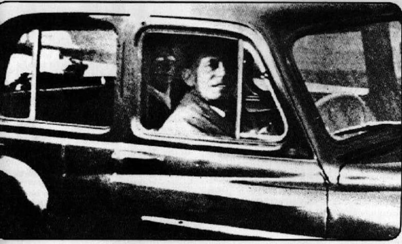 8. Пассажир на заднем сидении привидение, страх, фотография