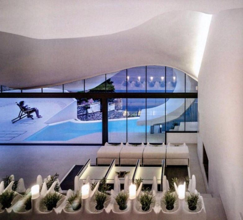 Дом в скале дом, архитектура, средиземноморье, Испания, длиннопост