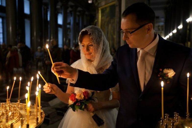 Николай и Валерия скрепили союз в церкви незадолго до путешествия