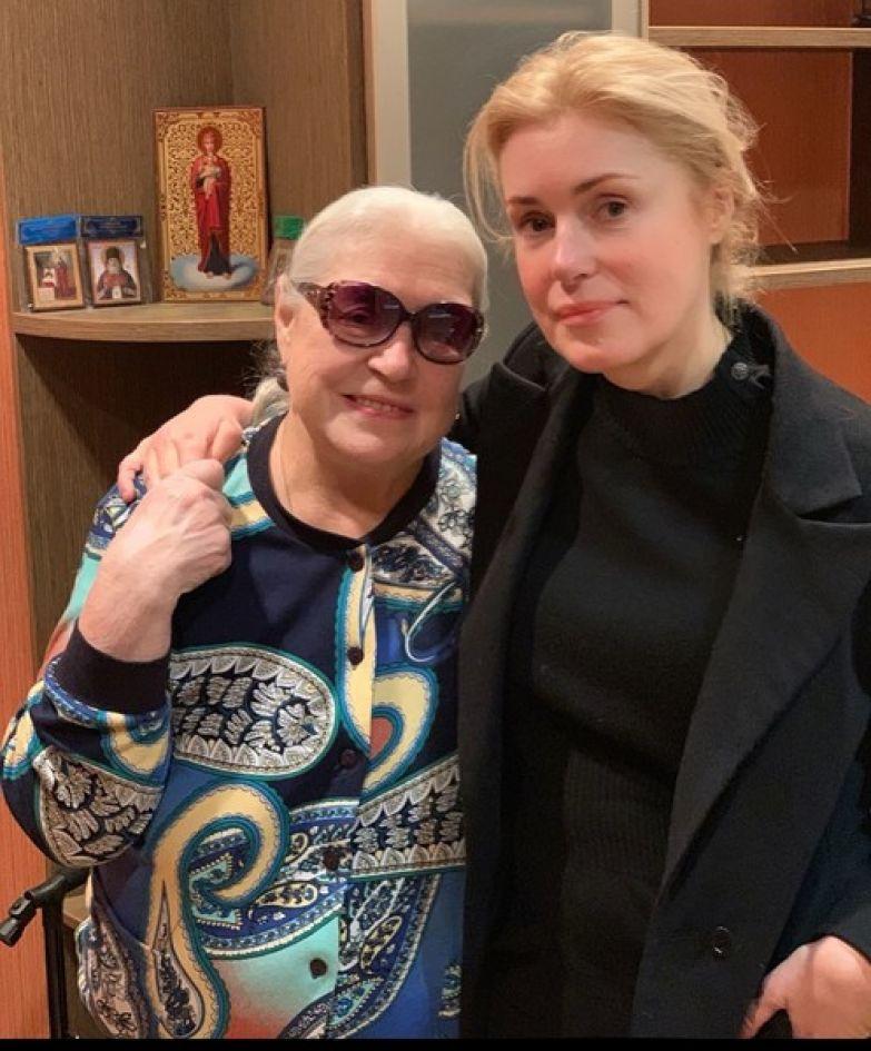 Лидия Федосеева-Шукшина и ее дочь Мария
