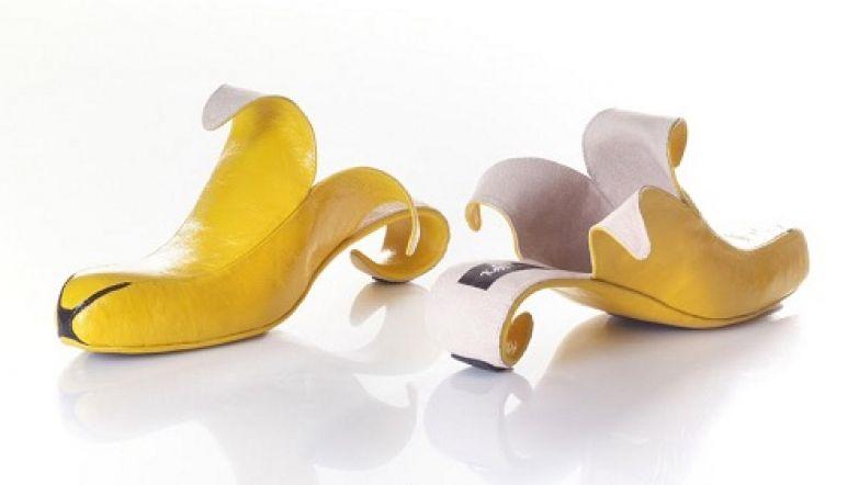 Туфли-бананы.