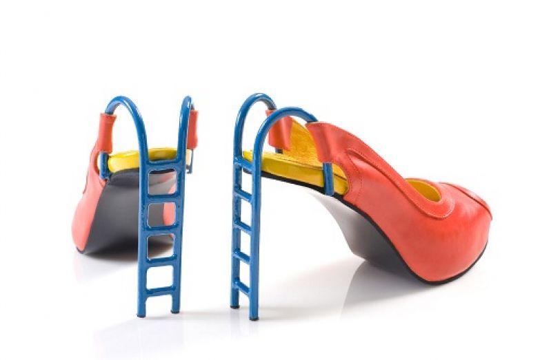 Туфли-лестницы.