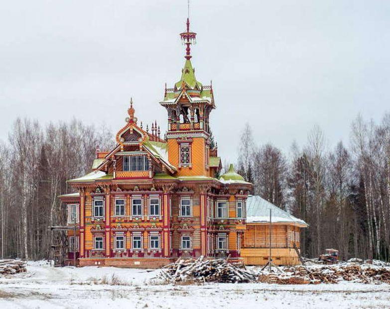 Лесной терем под Костромой Лесной терем, история, Костромская область, восстановление, длиннопост
