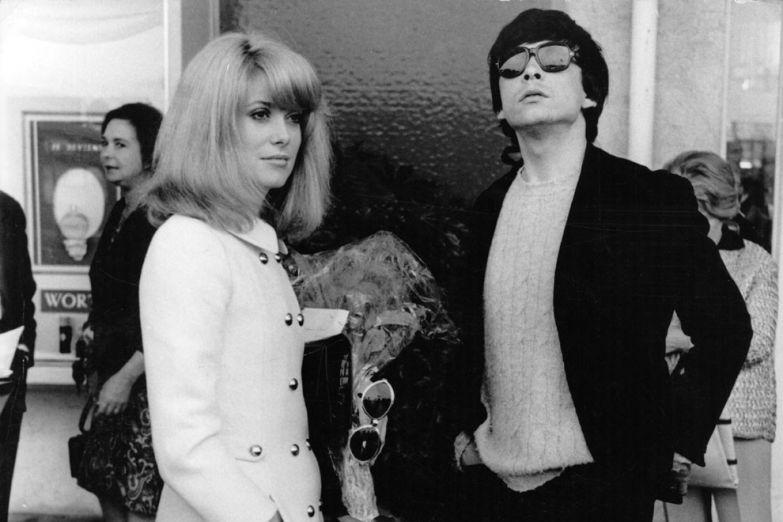 Катрин Денев и Дэвид Бейли, 1966