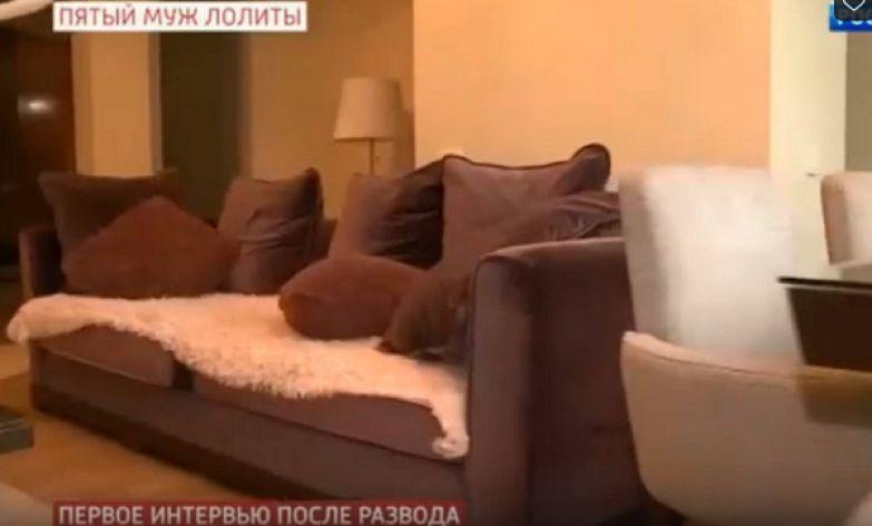 Так выглядит гостиная в съемной квартире Дмитрия