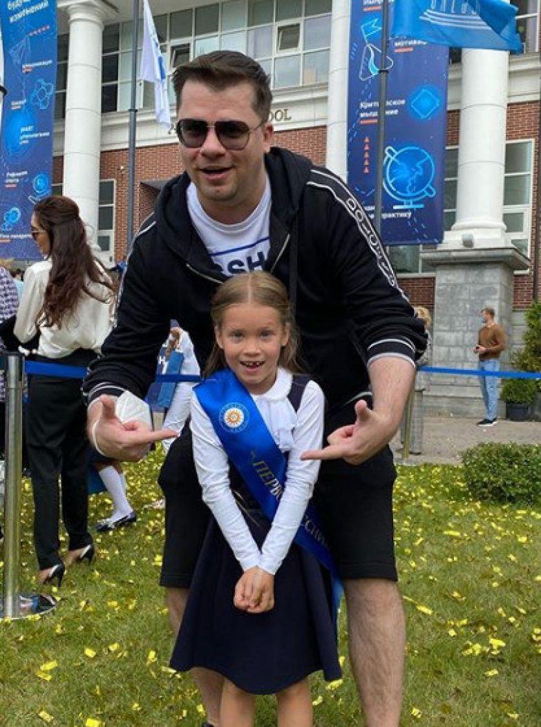 Гарик Харламов с дочерью Анастасией