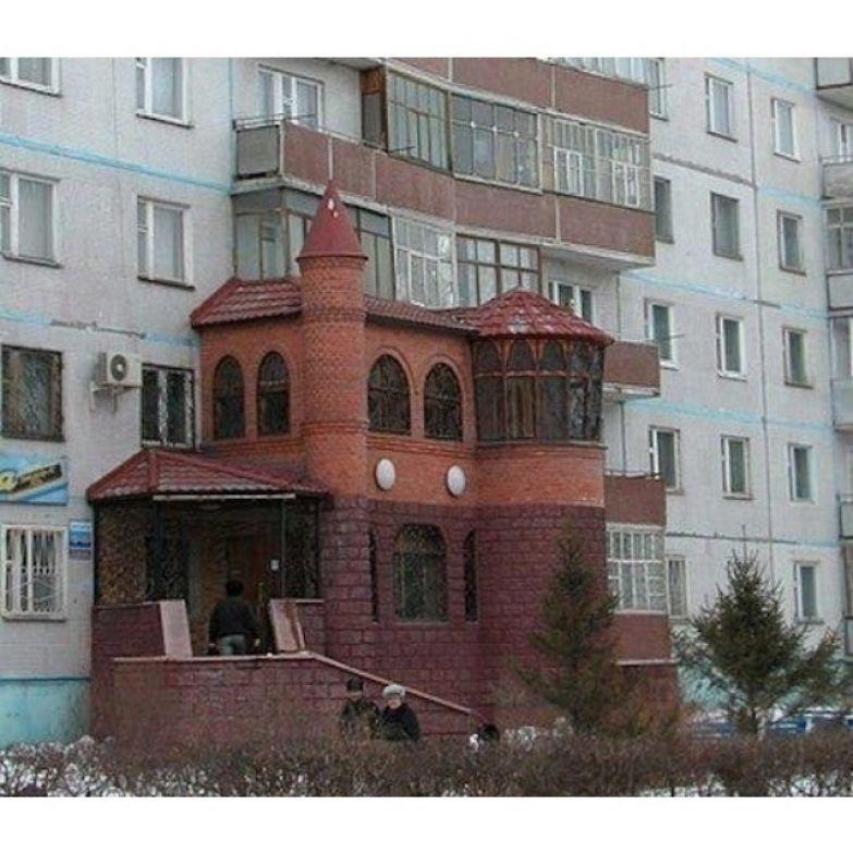Когда хочешь жить красиво в многоэтажном доме прикол, своими руками, сделай сам, юмор