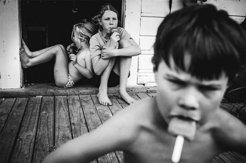 Мама четверых детей показала, что такое детство без телевизора и гаджетов