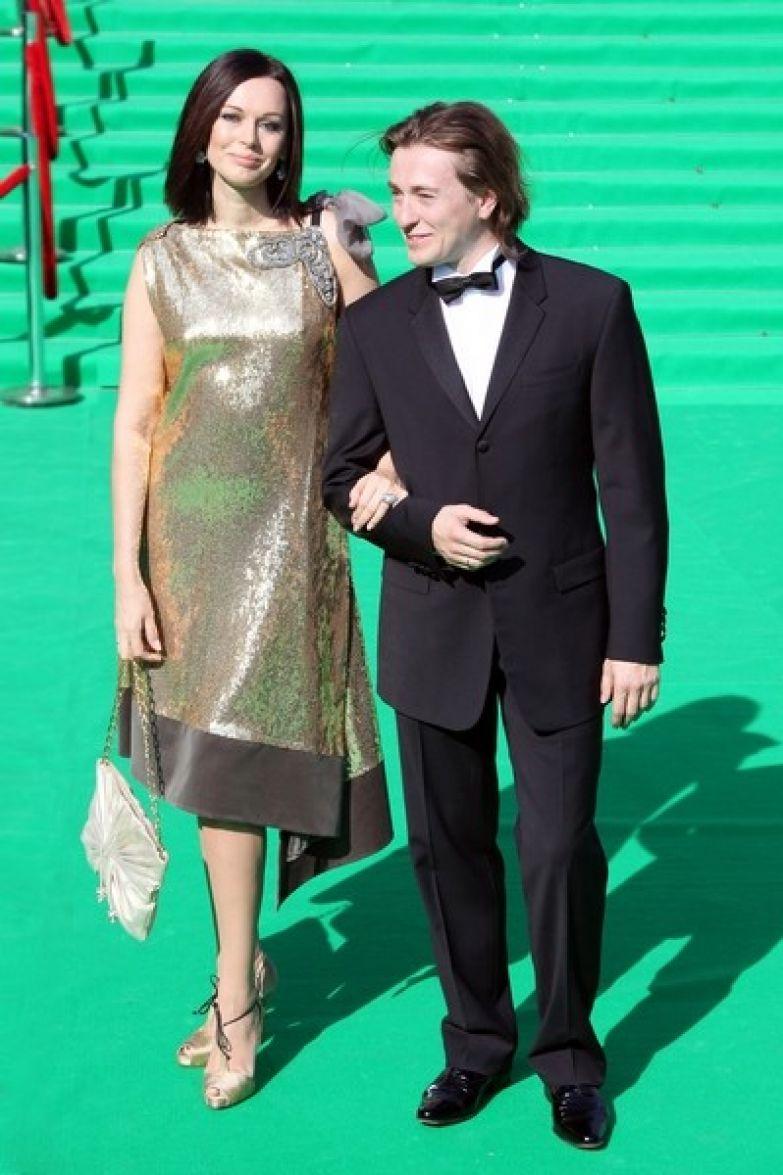 Ирина с бывшем мужем Сергеем Безруковым
