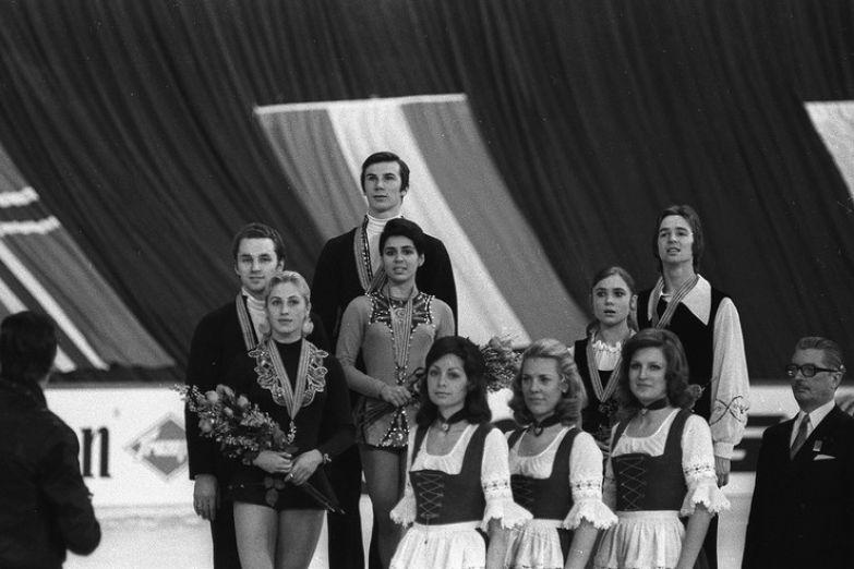 Роднина начала выступать с Зайцевым, а Уланов — со Смирновой