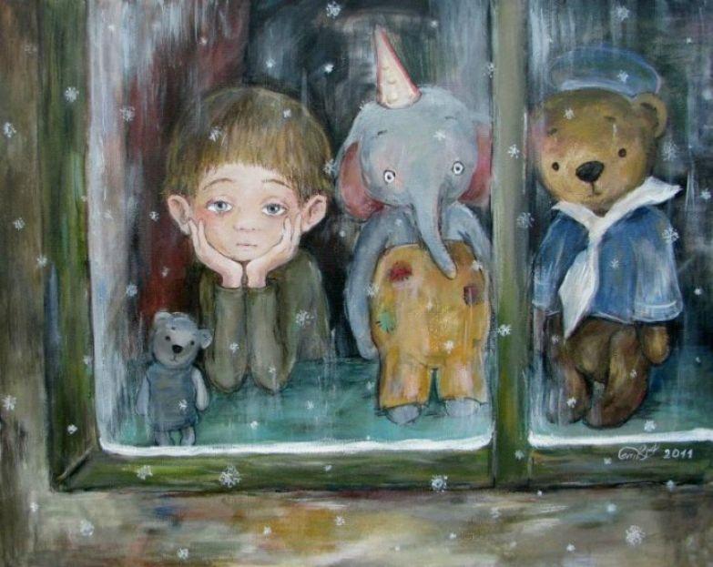 Мечты о весне. Автор работ: Нино Чакветадзе (Nino Chakvetadze).