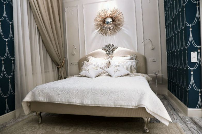 В квартире две спальни – основная и гостевая