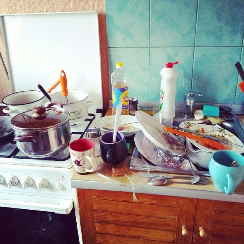К посуде у сильного и независимого два подхода жизненно, прикол, сильный независимый мужчина, холостяк