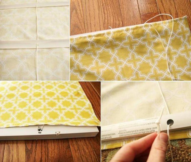 Мастер-класс: как сделать римские шторы своими руками uDuba.com