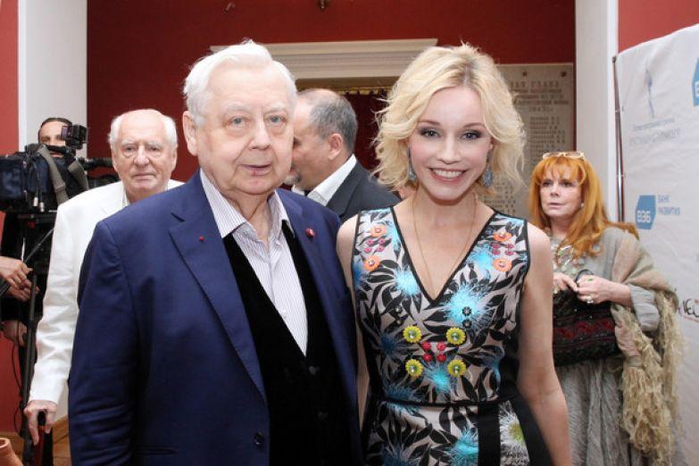 Марина Зудина 10 лет крутила с Олегом Табаковым роман, пока не вышла за него замуж