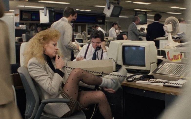 Мелани Гриффит в фильме «Деловая женщина», 1988
