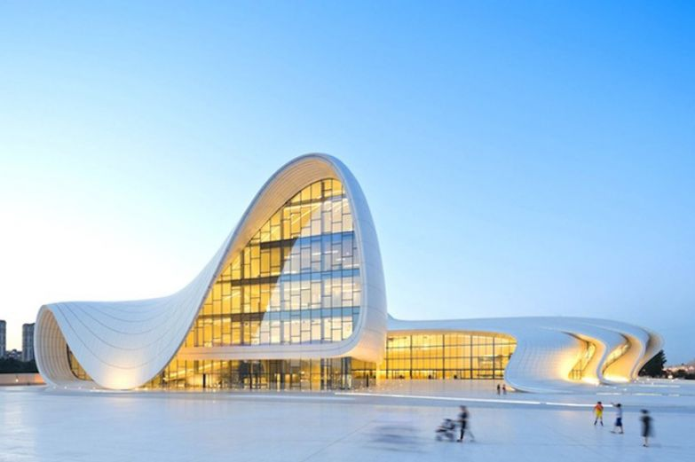 Heydar Aliyev Center. Zaha Hadid Architects.
