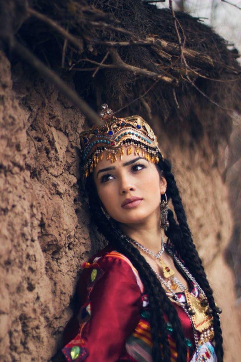 Самое красивое девушки узбечки фото