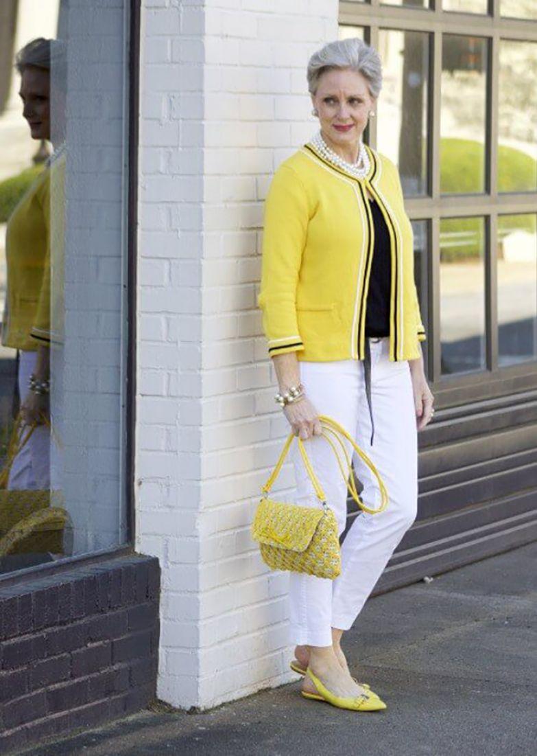 стильная мода для зрелых женщин