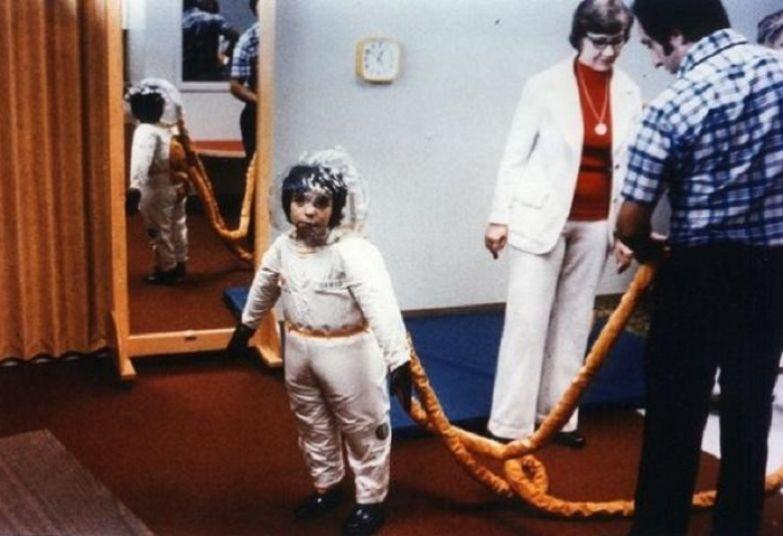 Детский скафандр, созданный специалистами NASA.   Фото: thejizn.com.