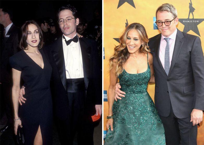Сара Джессика Паркер и Мэтью Бродерик - 19 лет вместе голливуд, звезды, любовь, свадьбы, семьи