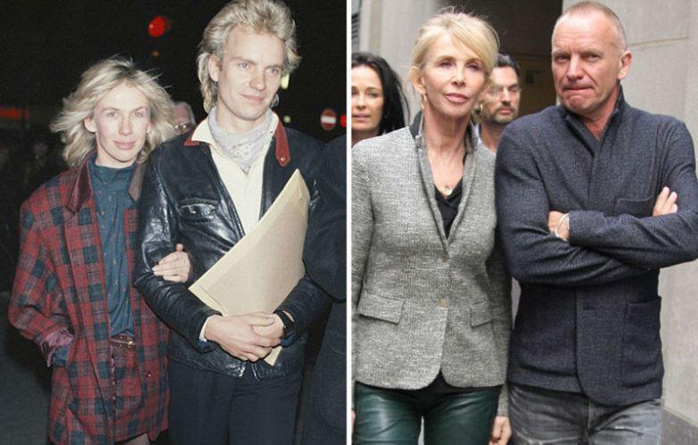 Стинг и Труди Стайлер - 34 года вместе голливуд, звезды, любовь, свадьбы, семьи