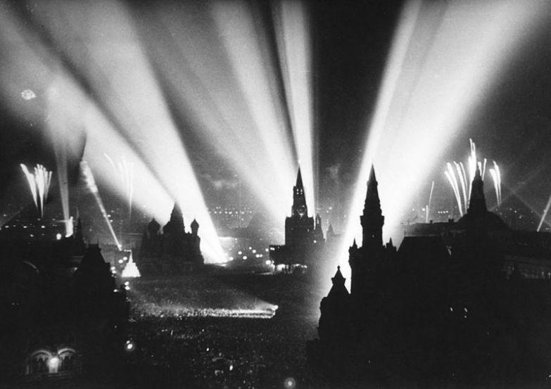 День Победы на Красной Площади 9 мая 1945