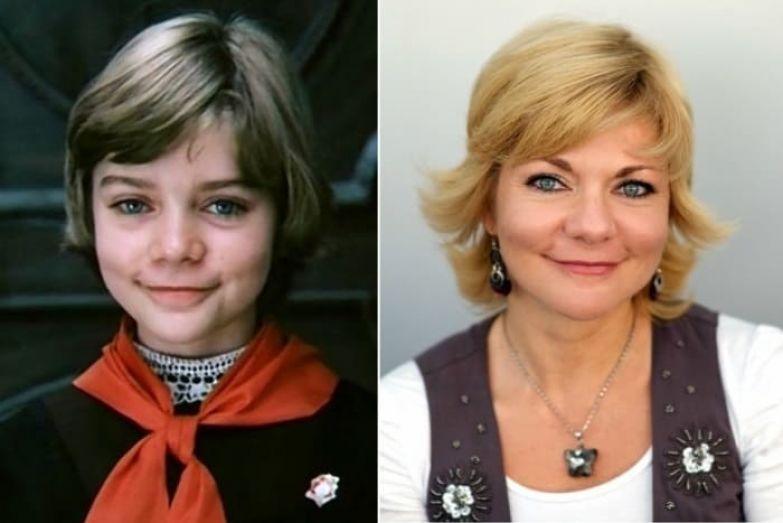 Наталья Мурашкевич в роли Алисы Селезневой, 1984, и в наши дни | Фото: kino-teatr.ru и kinokomp.ru