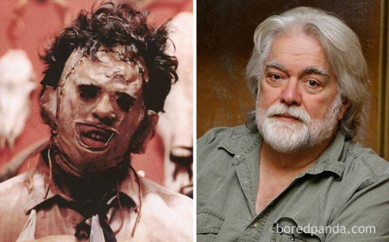 Кожаное лицо - Гуннар Хансен (Техасская резня бензопилой, 1974) актеры, монстры, ужастики