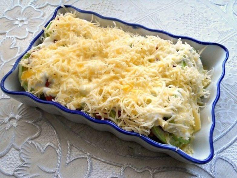 запеченный кабачок рецепт с фото