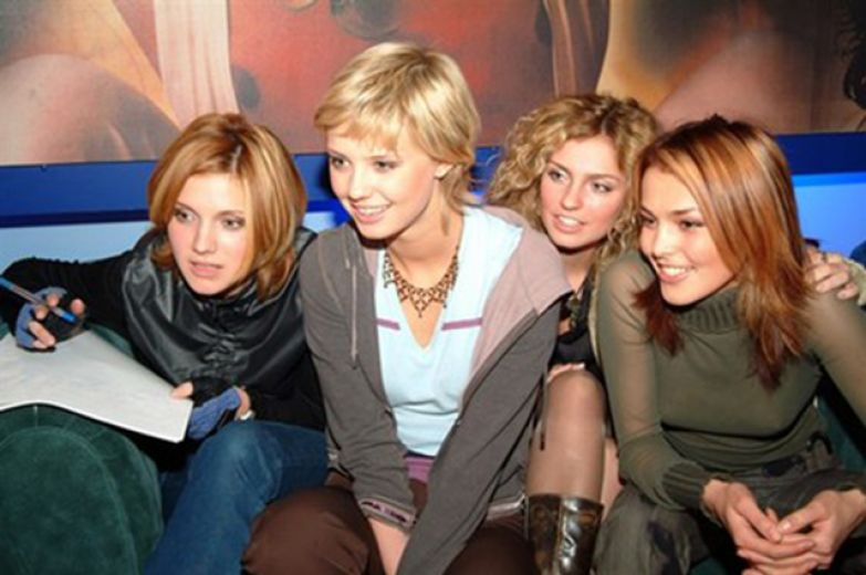 Ирина Тонева, Мария Алалыкина, Саша Савельева и Сати Казанова