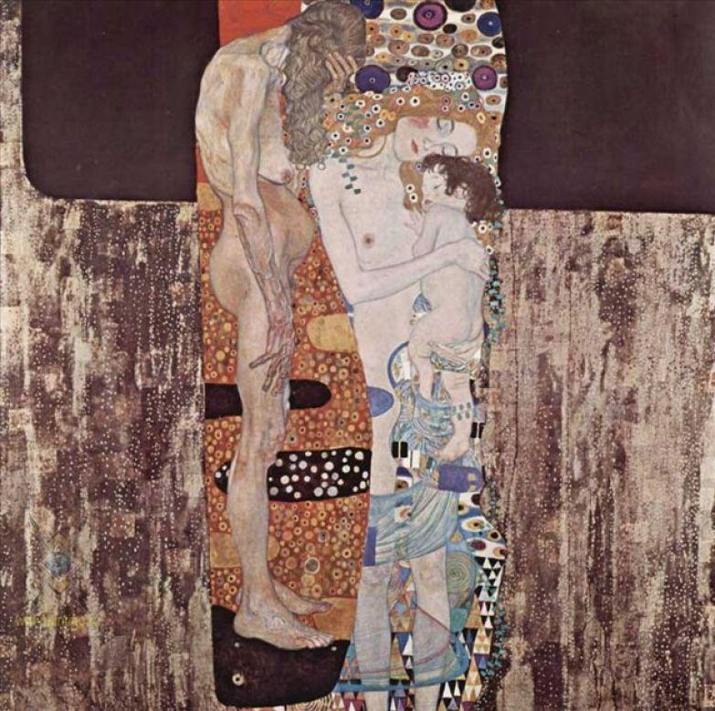 Густав Климт. Три возраста женщины. 1905