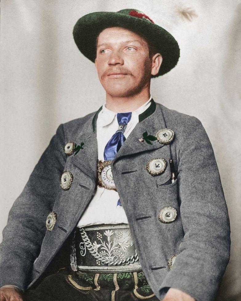 Баварец, 1910 история, костюмы, сша, эмиграция
