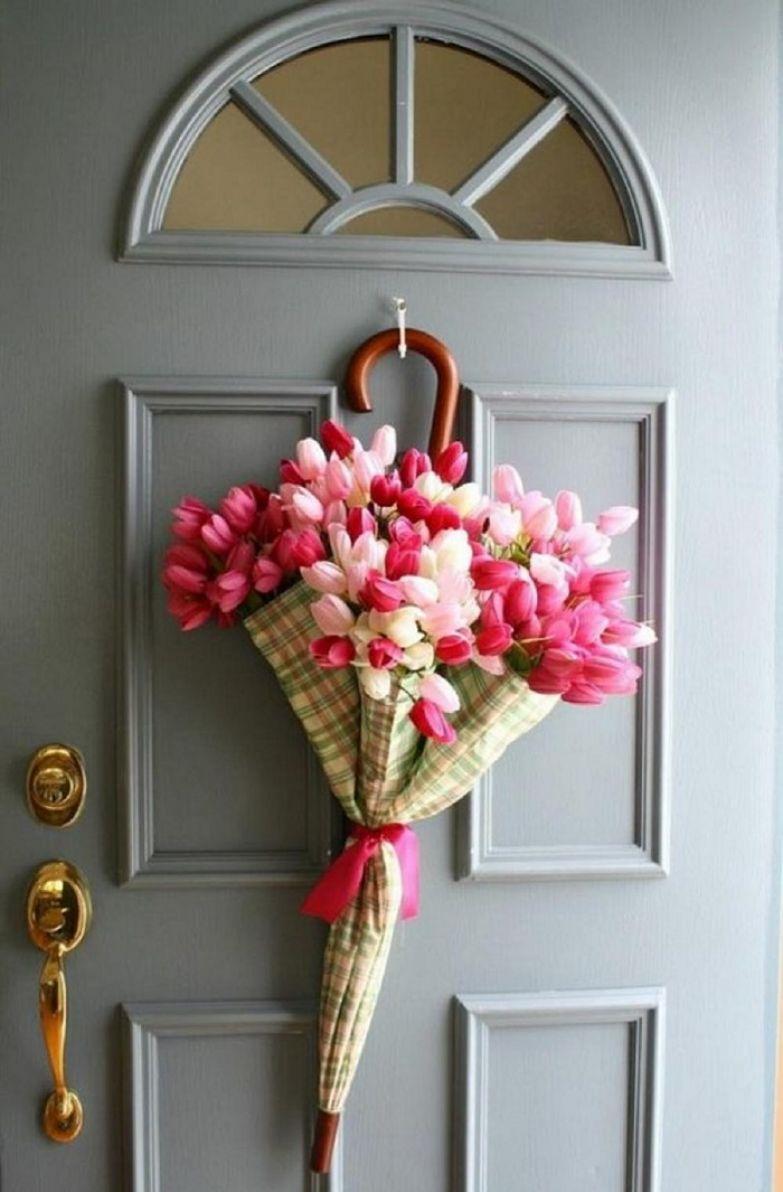 цветочные зонтики