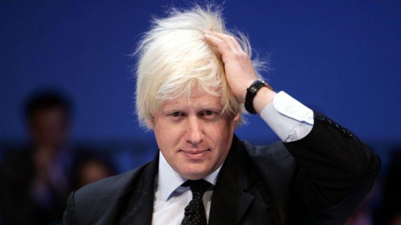 Бывший мэр Лондона Борис Джонстон политики, прически, смешно, удивительно