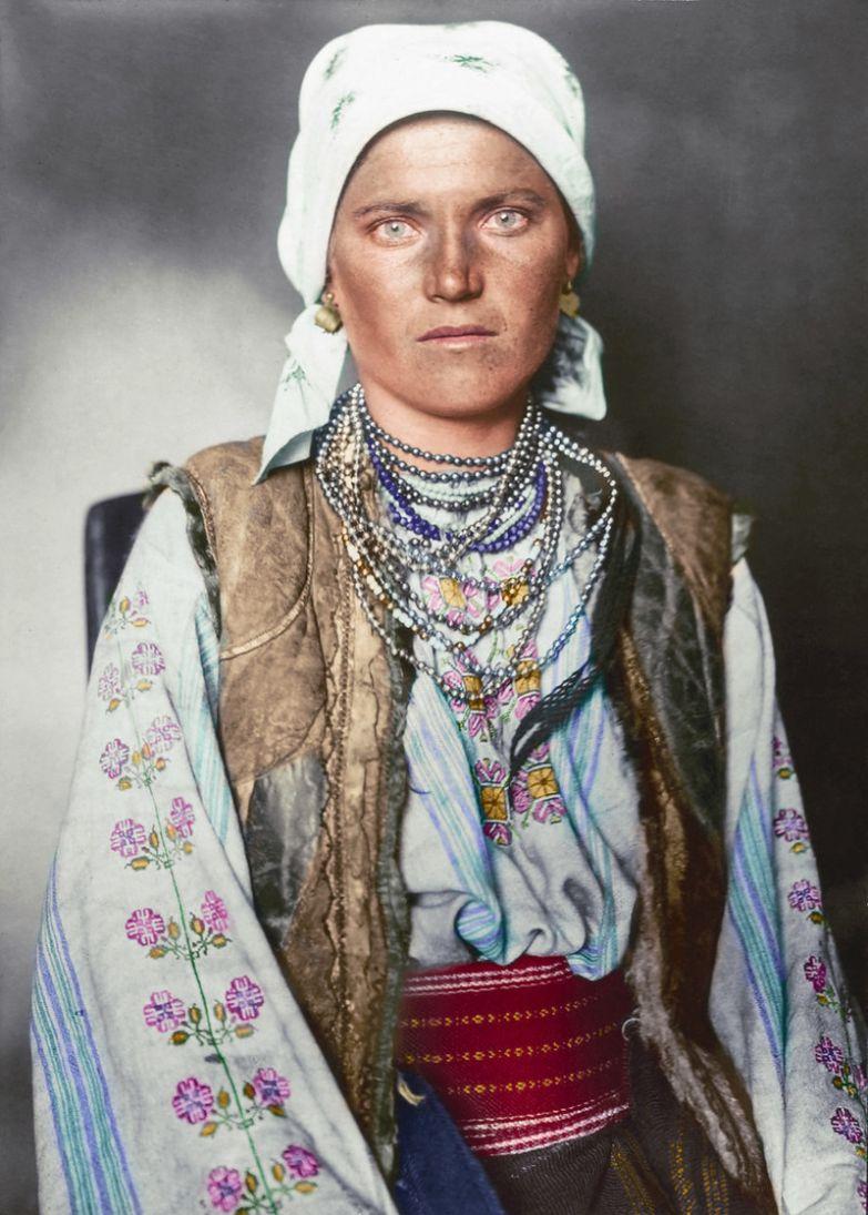 Западная украинка, 1906 история, костюмы, сша, эмиграция