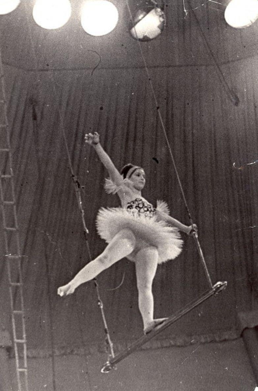 Наталья Варлей окончила цирковое училище