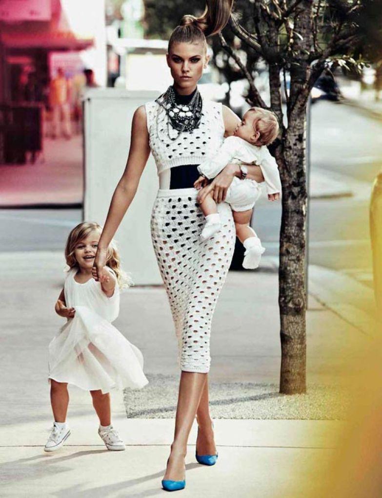 Модная мамочка