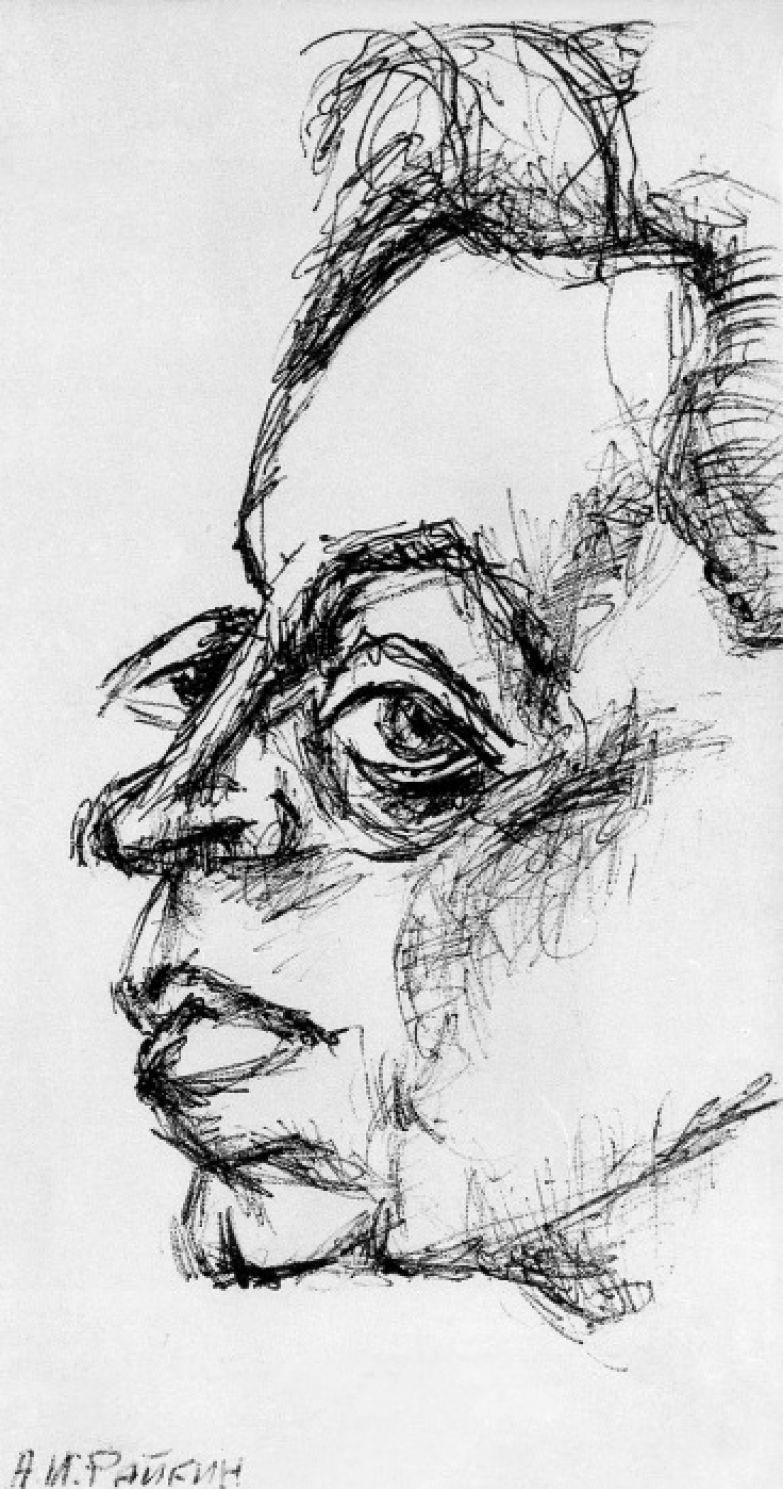 Аркадий Райкин, 1970.