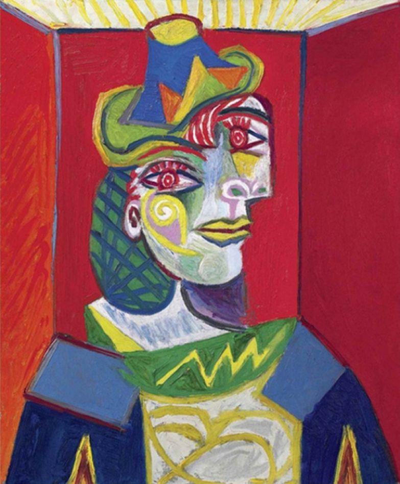 «Бюст женщины (Женщина в сеточке для волос)», Пабло Пикассо