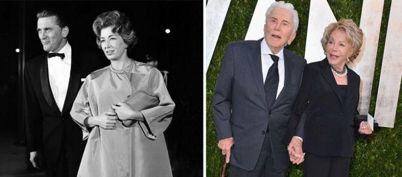 Кирк Дуглас и Энн Байденс - 62 года вместе голливуд, звезды, любовь, свадьбы, семьи