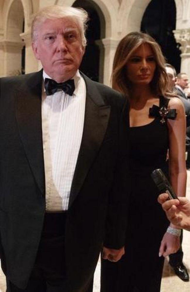 Дональд Трамп и Меланья Трамп