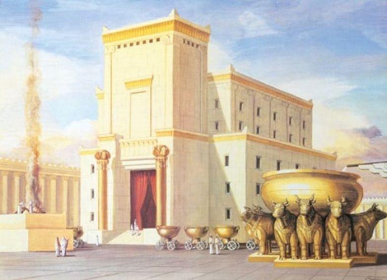Храм Соломона - миниатюрная версия Вселенной